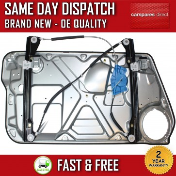 VW NEW BEETLE COMPLETE ELECTRIC WINDOW REGULATOR WITH PANEL FRONT RIGHT