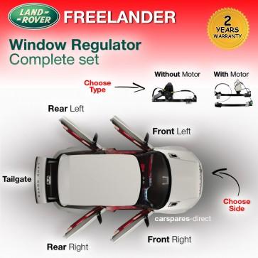 LAND ROVER FREELANDER WINDOW REGULATOR FRONT/REAR LEFT/RIGHT 1998>2006