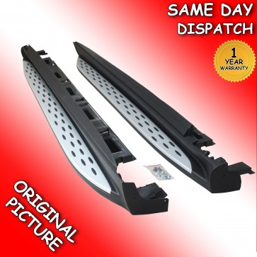 MERCEDES BENZ ML W166 SIDE STEPS RUNNING BOARD 2012>on *BRAND NEW*