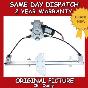 WINDOW REGULATOR FIT FOR A NISSAN PRIMERA FRONT RIGHT WITH MOTOR 1996>2002