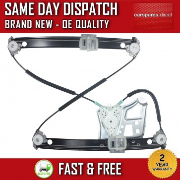 MERCEDES S-CLASS FRONT LEFT SIDE WINDOW REGULATOR WITHOUT MOTOR 1998>2005