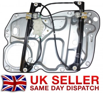 VW TOURAN 1T1,1T2 1T3 FRONT RIGHT WINDOW REGULATOR WOUT MOTOR WITH PANEL 2003>ON