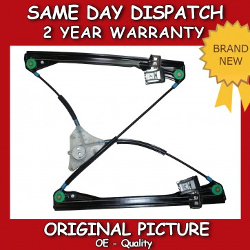 VW POLO MK4 IV 9N FRONT RIGHT ELECTRIC WINDOW REGULATOR WITHOUT MOTOR 2001>2009