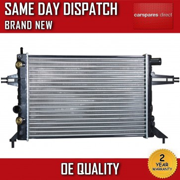 VAUXHALL ASTRA G / ZAFIRA A 1998>2005 AUTOMATIC/MANUAL RADIATOR 2 YR WARRANTY