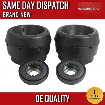 x2 VW GOLF, POLO, BEETLE, BORA, UP SUSPENSION TOP STRUT MOUNTS WITH BEARINGS