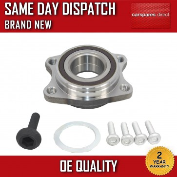 AUDI A6 (4F2)  FRONT WHEEL BEARING + BOLTS 2004>2011 2 YR WARRANTY *BRAND NEW*