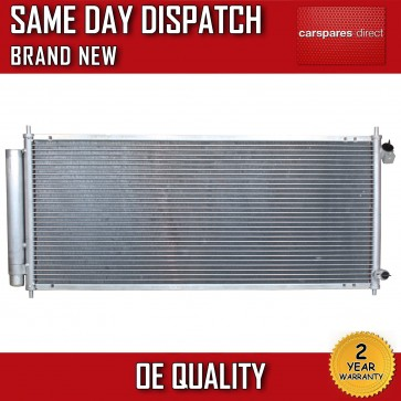 HONDA JAZZ 1.2 1.3/1.4 2002>2008 AC CONDENSER RADIATOR 2 YEAR WARRANTY BRAND NEW