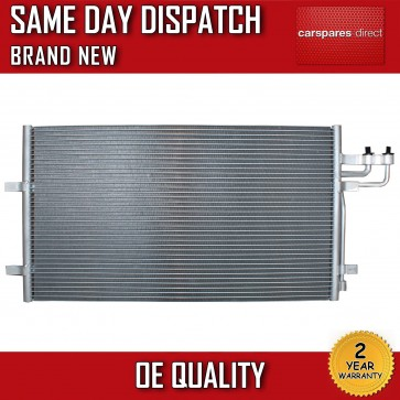 FORD FOCUS 2003>ON C-MAX 2007>ON AIRCON CONDENSER RADIATOR 2 YEAR WARRANTY *NEW*