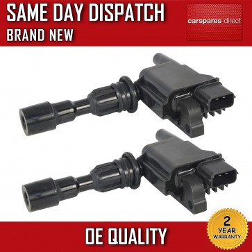 2X IGNITION PACK FIT FOR PENCIL A MAZDA 323 1.5 1.6 1998>2004 *NEW*