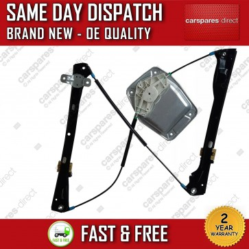 VW GOLF Mk5 V FRONT RIGHT ELECTRIC WINDOW REGULATOR WITH PANEL 4/5 DOORS 03>2009