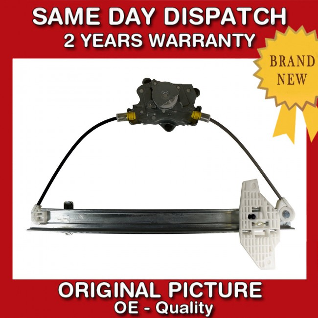 FOR HYUNDAI ACCENT MK2 2000/>05 FRONT LEFT NEAR SIDE WINDOW REGULATOR WITH MOTOR