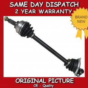 DRIVESHAFT + CV-JOINT FIT FOR A NISSAN PRIMESTAR (X83) NEAR SIDE 2001>on *NEW*