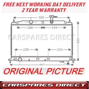RADIATOR FIT FOR A HYUNDAI ACCENT 1.4 1.6 05-08 2 YR WARRNTY *NEW*