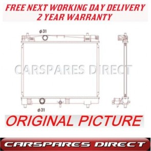 TOYOTA YARIS 1.0/1.3 VVTi 2005-on  NEW MANUAL RADIATOR