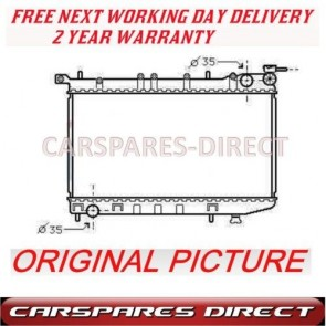 MANUAL RADIATOR FIT FOR A NISSAN ALMERA N15 1.4 1.6 16V 95>99 NEW