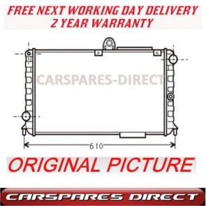 ALFA ROMEO 75 90 164 2.0 2.5 84>92 MANUAL RADIATOR NEW