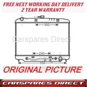 Isuzu Trooper 3.1 T/D 3.2 V6 92>99 Radiator Brand *NEW*