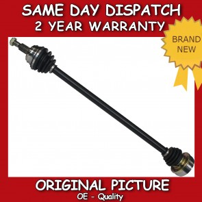 VW BORA 1.4 16V,1.6,1.9 SDI DRIVESHAFT + CV-JOINT OFF SIDE 1998>2005 *BRAND NEW*