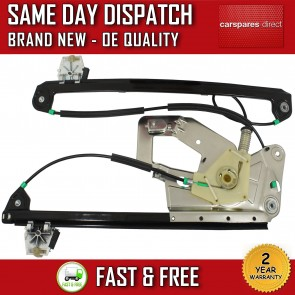BMW 5 SERIES E39 FRONT LEFT COMPLETE ELECTRIC POWER WINDOW REGULATOR  *NEW*