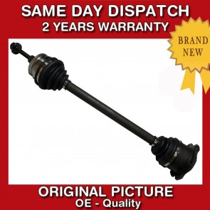 AUDI A4 1.9 TDI TURBO DIESEL DRIVESHAFT + CV JOINT LEFT SIDE/NEAR SIDE 1995>04