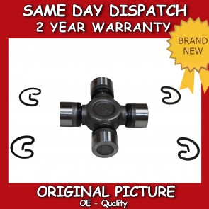 REAR PROPSHAFT UNIVERSAL JOINT FIT FOR A NISSAN NAVARA 2.5TD 2005>2012 *NEW*