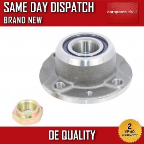 LANCIA DEDRA,DELTA,Y REAR WHEEL BEARING + HUB + NUT NON ABS 1993-2005 BRAND NEW