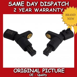 SKODA OCTAVIA ABS SENSOR PAIR REAR RIGHT+LEFT 1996>10 *BRAND NEW*