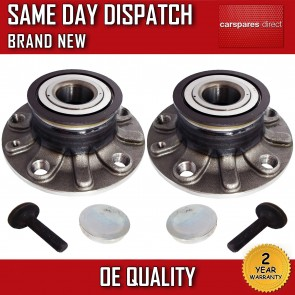 SEAT ALTEA 1.2,1.4,1.6,1.8,1.9,2.0 REAR 2X WHEEL BEARING + HUB 2004>on *NEW*