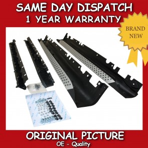 BMW X6 SIDE STEP RUNNING BOARDS 2009>on *BRAND NEW*