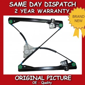 VW POLO MK4 9N FRONT LEFT SIDE ELECTRIC WINDOW REGULATOR WITHOUT MOTOR 01>12 NEW
