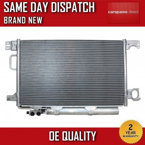 MERCEDES-BENZ CLK CLASS 2002>2010 AIRCON CONDENSER RADIATOR 2 YR WARRANTY *NEW*