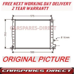 FORD FIESTA MAZDA 121 1.0 1.3 95>03 NEW MANUAL RADIATOR