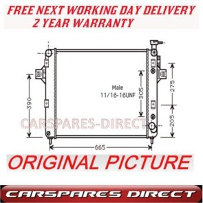 JEEP GRAND CHEROKEE 4.7 99>01 AUTO/ MAN RADIATOR NEW