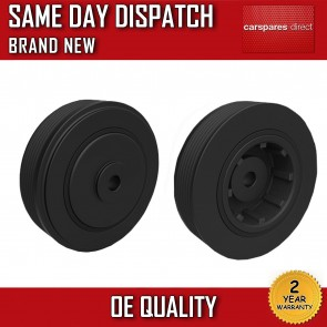 RENAULT ESPACE 2.0 1988>2000 CRANKSHAFT PULLEY 2 YEAR WARRANTY *BRAND NEW*