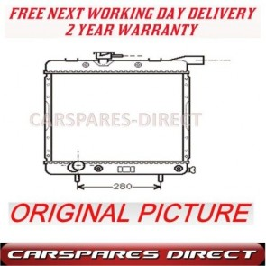 CHRYSLER VOYAGER 3.0 3.3 89>92 AUTOMATIC RADIATOR NEW
