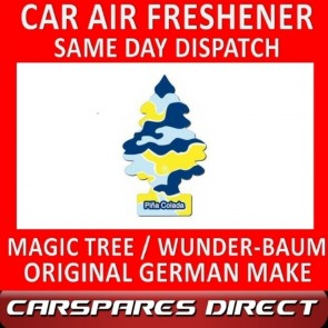 MAGIC TREE CAR AIR FRESHENER PINA COLADA ORIGINAL & BEST - WUNDER-BAUM NEW