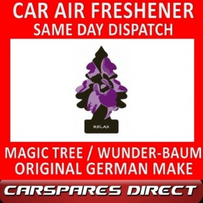 MAGIC TREE CAR AIR FRESHENER RELAX ORIGINAL & BEST - WUNDER-BAUM NEW