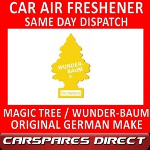 MAGIC TREE CAR AIR FRESHENER VANILLA ORIGINAL & BEST - WUNDER-BAUM NEW