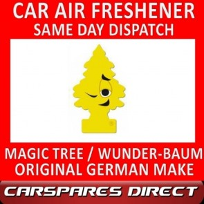 MAGIC TREE CAR AIR FRESHENER VERY VANILLA ORIGINAL & BEST - WUNDER-BAUM NEW