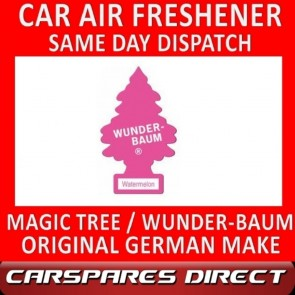 MAGIC TREE CAR AIR FRESHENER WATER MELON ORIGINAL & BEST - WUNDER-BAUM NEW