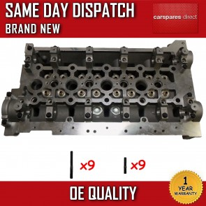 VAUXHALL/RENAULT  2.5 CDTi/DCi (G9U 630/632/650) BARE CYLINDER HEAD *BRAND NEW*