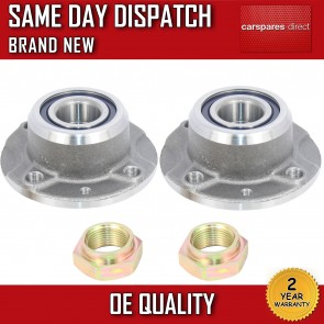 LANCIA DEDRA,DELTA,Y REAR WHEEL BEARING KIT PAIR (x2) + HUB NON ABS 1993>05 NEW