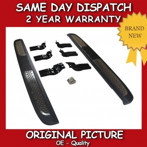 Chevrolet Captiva Luxury Side Steps Running Boards Set 2007>on *BRAND NEW*