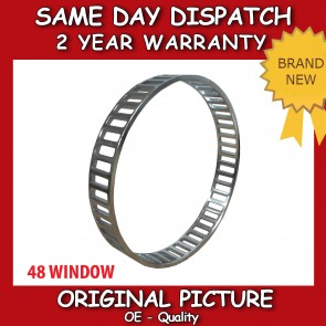 BMW 1 SERIES (E81,E82,E87,E88) REAR ABS RELUCTOR RING 48 WINDOW 2003>on *NEW*