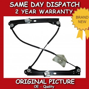 VW PASSAT FRONT RIGHT WINDOW REGULATOR WITHOUT MOTOR 4 DOOR 2010>on *NEW*