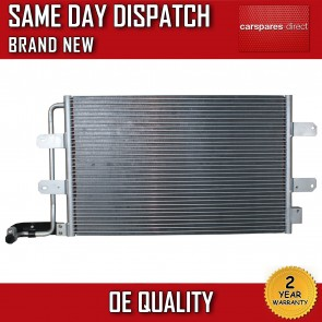 VW NEW BEETLE (9C1, 1Y7) 2003>2010 AIRCON CONDENSER/RADIATOR 2 YR WARRANTY *NEW*