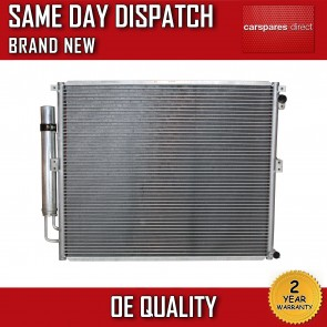 TOYOTA LAND CRUISER J12 4.0 2003>ON AC CONDENSER/RADIATOR 2 YEAR WARRANTY *NEW*