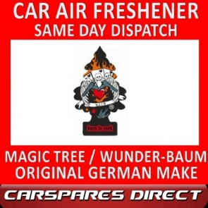 MAGIC TREE CAR AIR FRESHENER BORN TO ROCK ORIGINAL & BEST - WUNDER-BAUM NEW