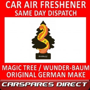 MAGIC TREE CAR AIR FRESHENER ENERGY ORIGINAL & BEST - WUNDER-BAUM NEW
