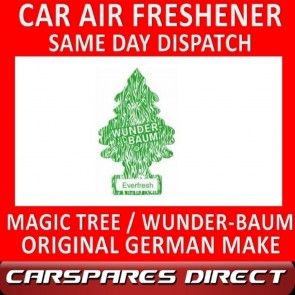MAGIC TREE CAR AIR FRESHENER EVERFRESH ORIGINAL & BEST - WUNDER-BAUM NEW